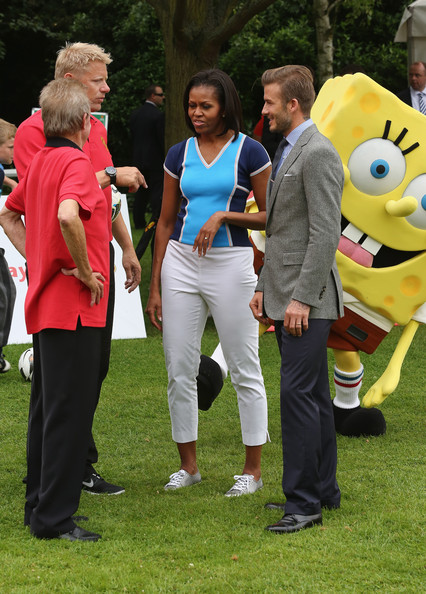 Michelle Obama Capri Pants