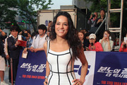 Michelle Rodriguez Bandage Dress