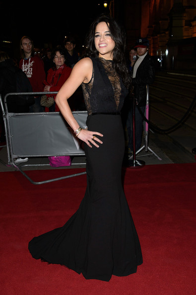 Michelle Rodriguez Mermaid Gown