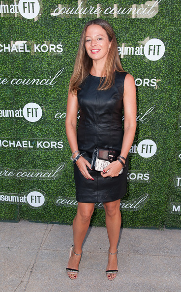 Michelle Smith Leather Dress