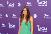 Michelle Stafford Strapless Dress