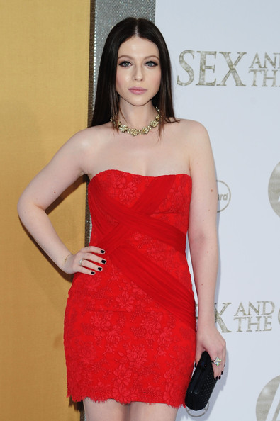 Michelle Trachtenberg Gold Collar Necklace