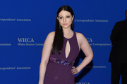Michelle Trachtenberg Cutout Dress