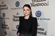 Michelle Trachtenberg Wool Coat