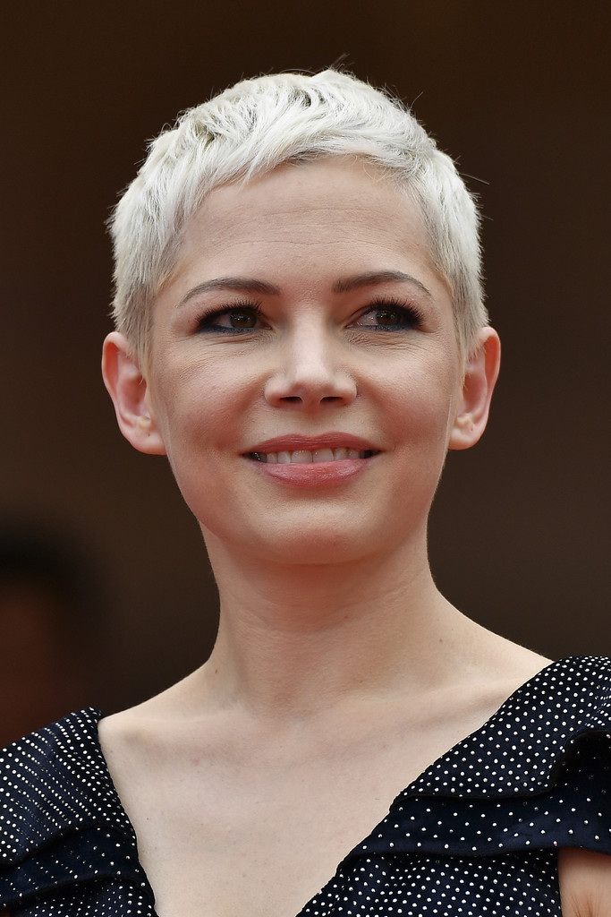 Michelle Williams Pixie Michelle Williams Short