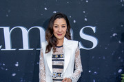 Michelle Yeoh Lace Dress