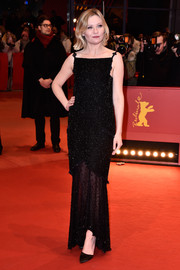Kirsten Dunst kept it classy at the 'Midnight Special' premiere in a sheer-bottom beaded gown by Chanel Couture.