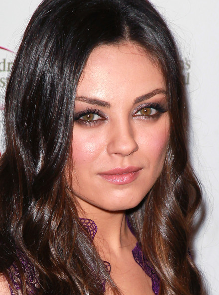 Mila Kunis Jewel Tone Eyeshadow
