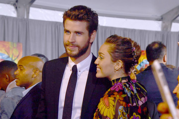 Miley Cyrus Liam Hemsworth Premiere of Disney and Marvel's 'Thor: Ragnarok' - Arrivals