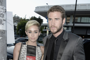 Miley Cyrus Liam Hemsworth 'Paranoia' Premieres in LA — Part 4