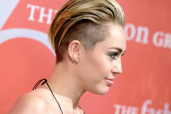 Miley Cyrus attends the 30th Annual Night Of Stars presented by The    Miley Cyrus Haircut Back