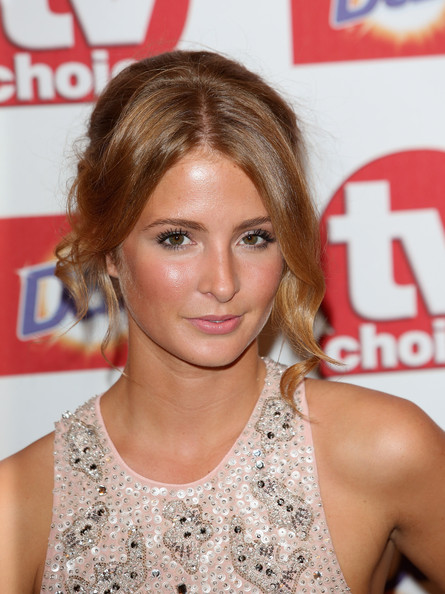 Millie Mackintosh Pinned Up Ringlets