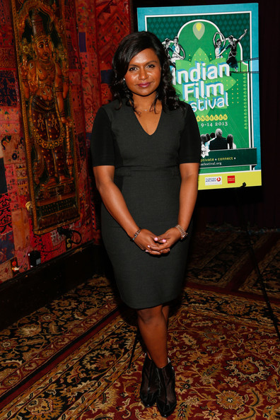 Mindy Kaling Little Black Dress [dress,little black dress,event,premiere,mindy kaling,west hollywood,california,house of blues,indian film festival of los angeles,annual industry leadership awards]