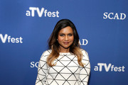 Mindy Kaling Mini Skirt