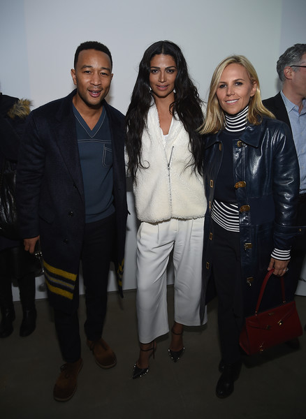 More Pics of Camila Alves Studded Heels  (1 of 4) - Camila Alves Lookbook - StyleBistro [the minefield girl,fashion,event,fashion design,outerwear,suit,tory burch,camila alves,john legend,new york city,lightbox,audio visual book launch]
