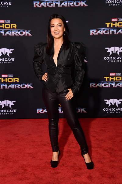 Ming-Na Wen Fitted Jacket