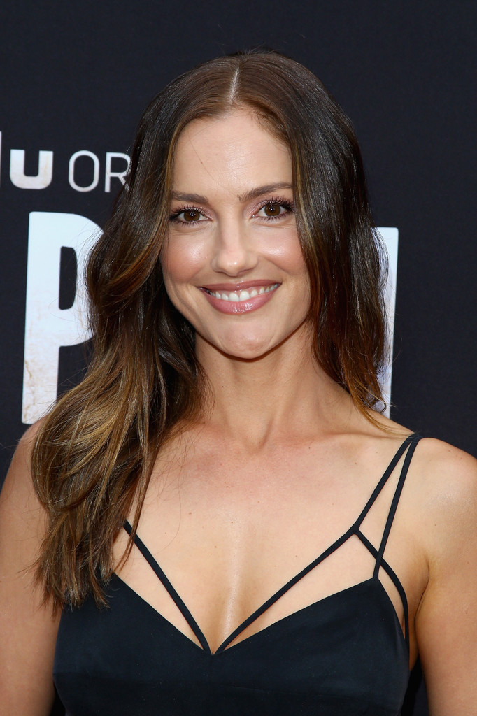 Minka Kelly Long Wavy Cut Minka Kelly Looks Stylebistro