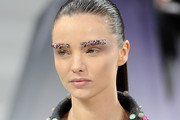 Miranda Kerr Gets Glitzy Eyebrows