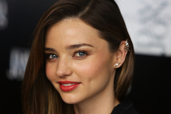 More Pics of Miranda Kerr Little Black Dress (1 of 32) - Miranda Kerr Lookbook - StyleBistro