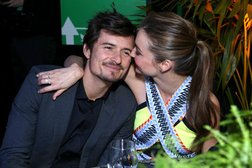Miranda Kerr Orlando Bloom Global Green USA's 10th Annual Pre-Oscar Party