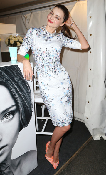 Miranda Kerr Promotes Kora Range At Fashion's Night Out
