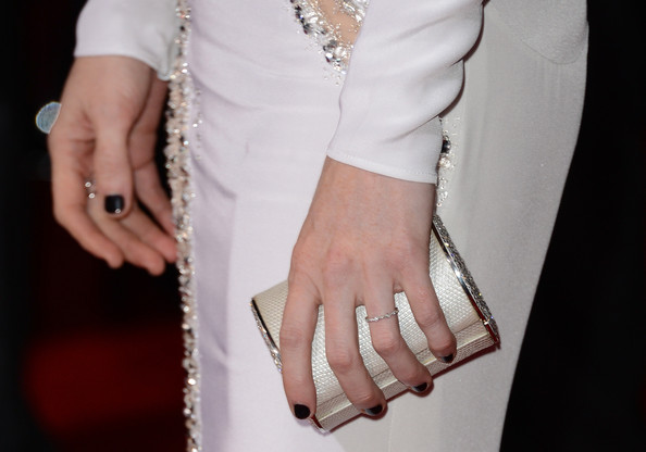 Mireille Enos Hard Case Clutch