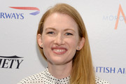 Mireille Enos Long Straight Cut