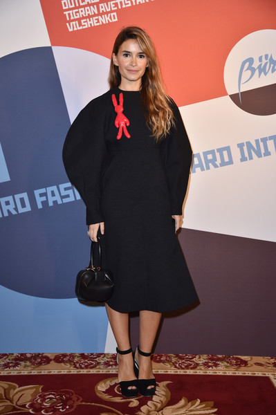 Miroslava Duma Little Black Dress [flooring,little black dress,fashion model,carpet,fashion,outerwear,dress,red carpet,girl,miroslava duma,part,hotel ritz,paris,france,fashion forward initiative,paris fashion week womenswear spring]