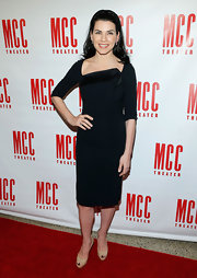 Julianna Margulies went for a classic look at the Miscast 2013 event with this little black dress with asymmetrical neckline.