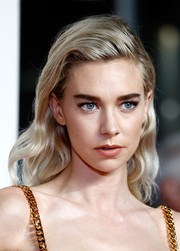 Vanessa Kirby sported a demure wavy hairstyle at the UK premiere of 'Mission: Impossible — Fallout.'