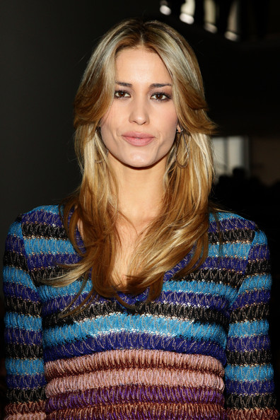 More Pics of Elena Santarelli Long Straight Cut (2 of 3) - Elena Santarelli Lookbook - StyleBistro