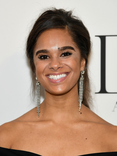 Misty Copeland Loose Ponytail