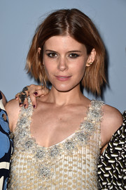 Kate Mara attended the 'Miu Miu Women's Tales #7 - #8' premiere wearing an edgy short 'do.