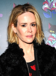 Sarah Paulson went for a bit of edge with this messy-chic short 'do when she attended the 'Spark & Light' screening.