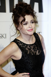 Helena Bonham Carter wore her tresses in messy, pinned-up ringlets during the Moet British Independent Film Awards.