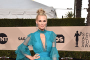 Molly Sims Leather Clutch