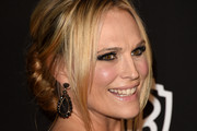 Molly Sims Loose Bun