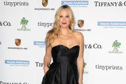 Molly Sims Strapless Dress