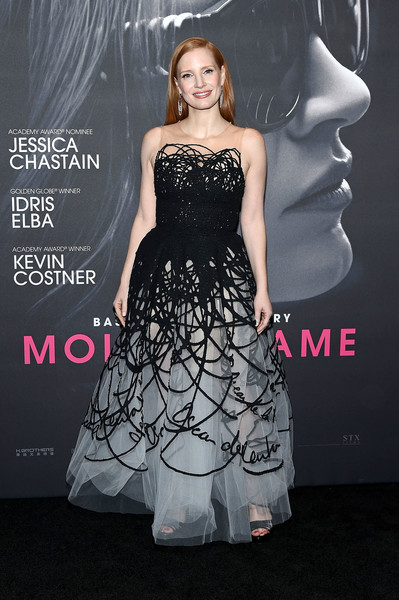 Look of the Day: December 14th, Jessica Chastain
