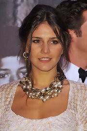 Margherita Missoni looked romantic at the 2011 Monaco Rose Ball with this messy-glam updo.