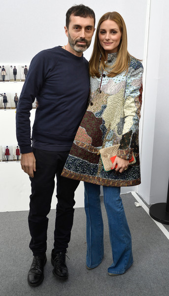 Olivia Palermo at Moncler Gamme Rouge