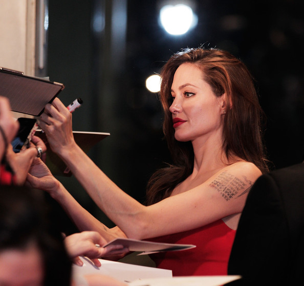More Pics of Angelina Jolie Red Lipstick (5 of 12) - Angelina ...