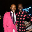 Alek Wek and Tyson Beckford