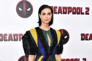 Morena Baccarin Beaded Dress