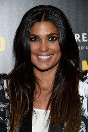 Rachel Roy wore her lush locks loose with a center part during the premiere of 'A Most Wanted Man.'