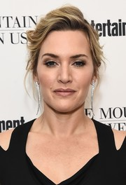 Kate Winslet worked a messy-sexy updo at the special screening of 'The Mountain Between Us.'
