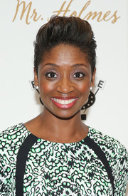 Montego Glover rocked a fauxhawk at the New York premiere of 'Mr. Holmes.'