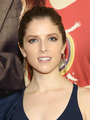 Anna Kendrick went for low-key styling with this ponytail when she attended the New York premiere of 'Mr. Right.'
