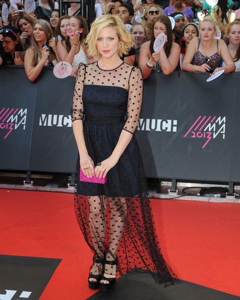 Brittany Snow Wore Alice by Temperley at the MuchMusic Video Awards