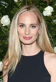 Lauren Santo Domingo opted for a simple straight 'do when she attended the MoMA Film Benefit.